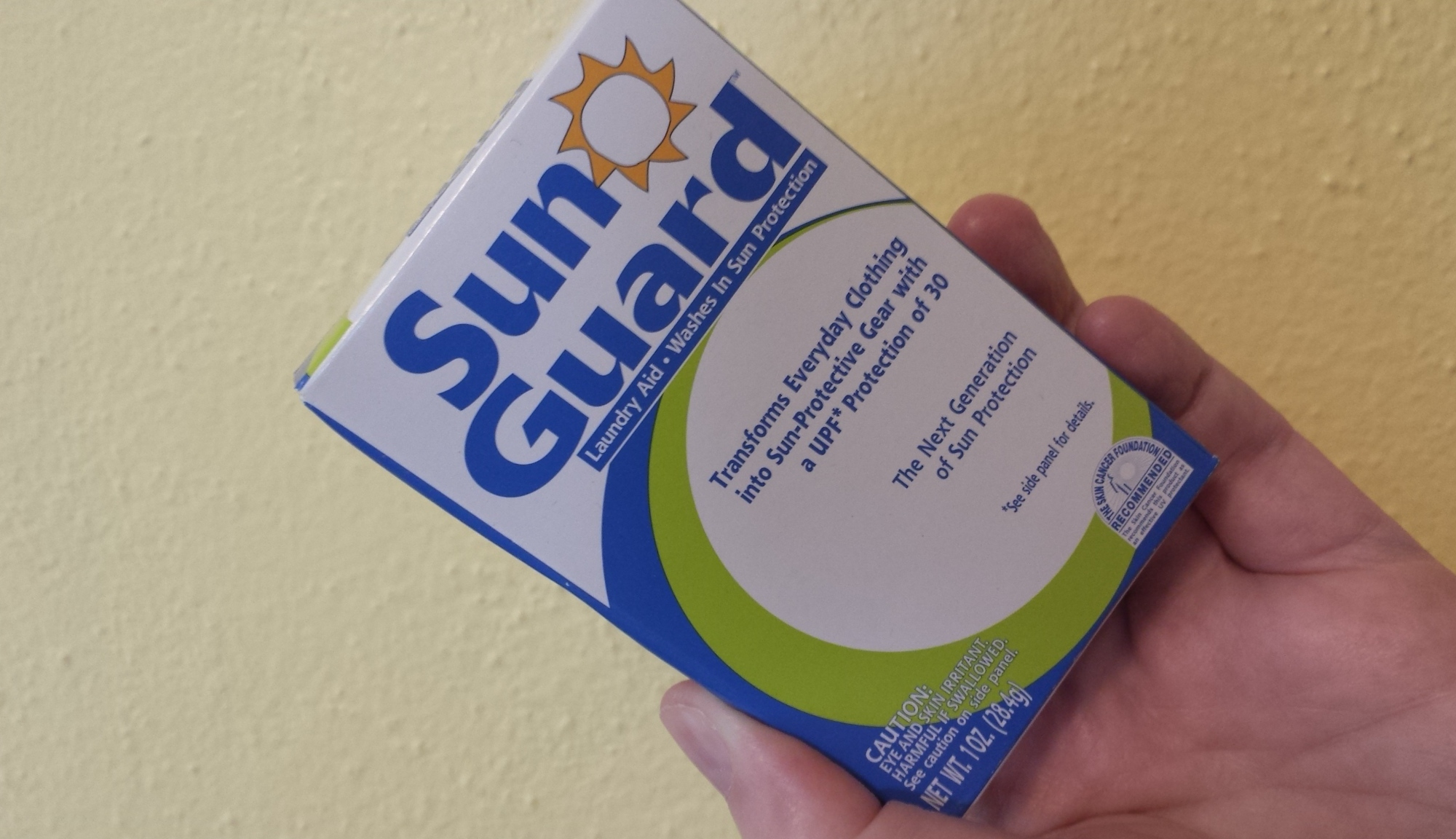 SunGuard adds UPF30 sun protection into your clothing.