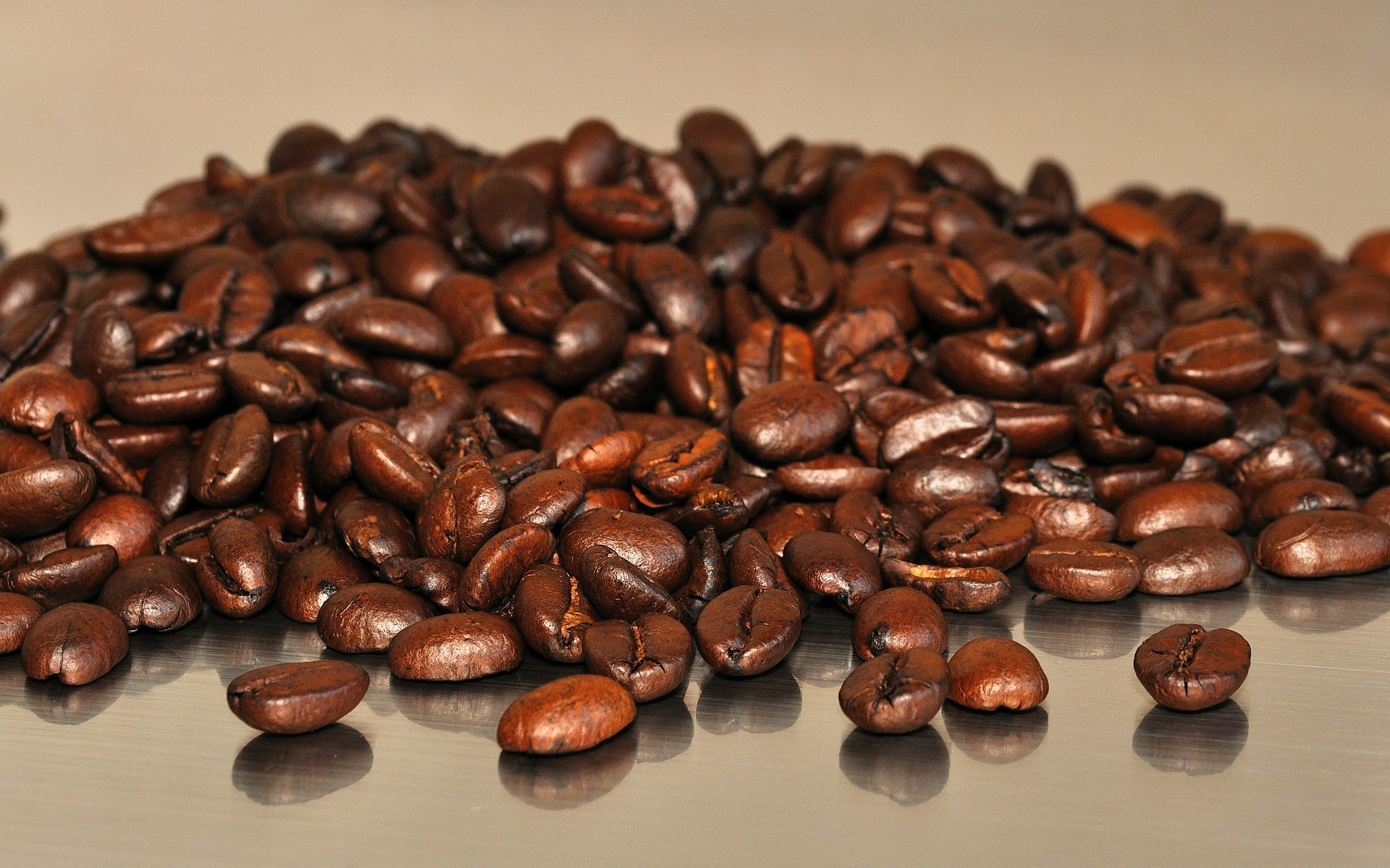 photo of fresh whole coffee beans